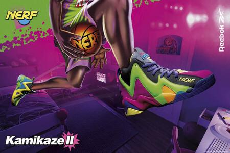 Reebok tiene las zapatillas más coloridas y estridentes que llevarás en verano gracias a su colaboración con NERF