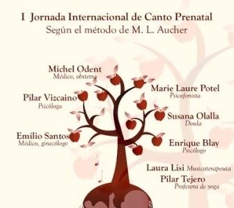 Primera Jornada Internacional de Canto Prenatal en España