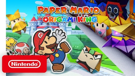 ¡Sorpresa! Paper Mario volverá en julio con Paper Mario: The Origami King, una nueva aventura para Nintendo Switch