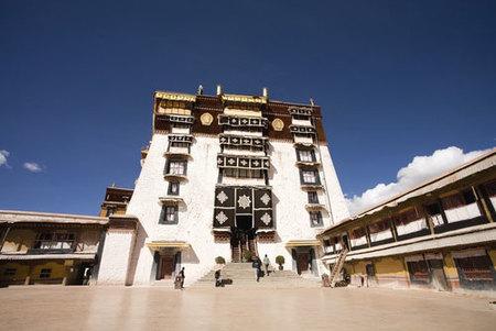 Entrada al Palacio de Potala
