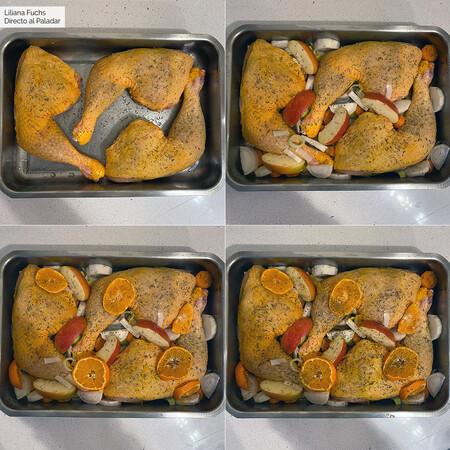 Pollo Mandarina Naranja Pasos