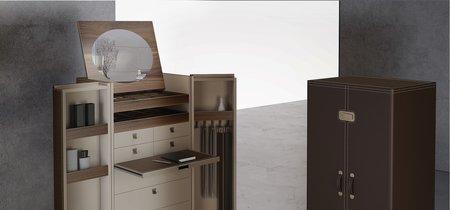 Alivar reinventa el clásico baúl de viaje para convertirlo en mueble de almacenaje lleno de secretos