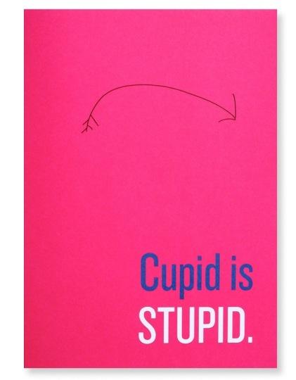 Una tarjeta anti-San Valentín para los más prosaicos