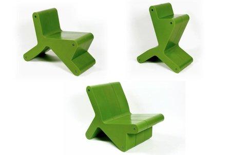Keer chair, curiosa silla multiposición