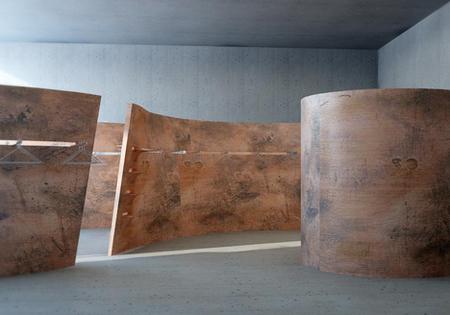 Esculturas para separar ambientes
