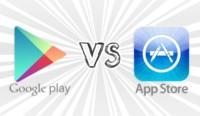 Google Play superará en volumen de descargas a App Store en otoño