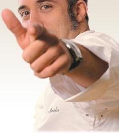 """Sergi Arola, """"Carta Blanca"""" para hacer un programa televisivo"""