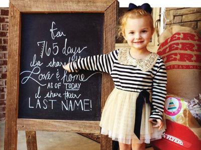 15 emotivas fotografías de niños adoptados que te tocarán el corazón