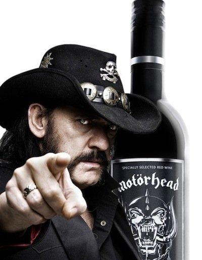 El vino de Motorhead