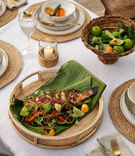 Casas sostenibles:  19 artículos de H&M de ratán, yute, junco y mimbre para dar el toque natural a tu hogar