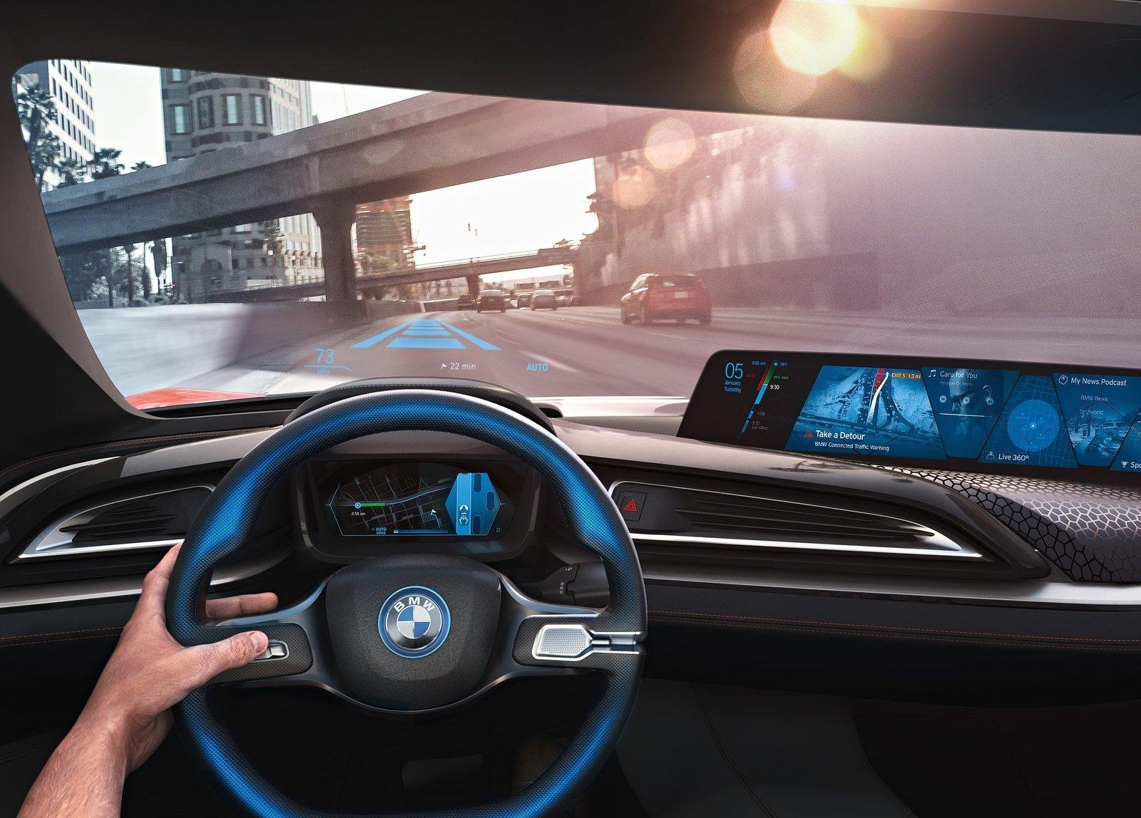 Foto de BMW i Vision Future Interaction Concept (11/19)