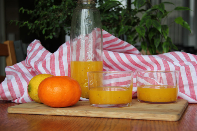 Agua naranja