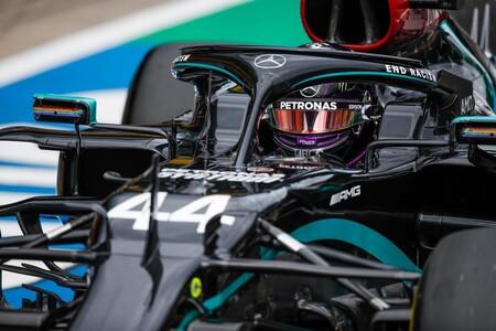 Hamilton F1 Mercedes 2020