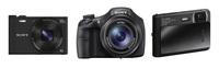 Sony Cyber-shot WX300, HX300 y TX30