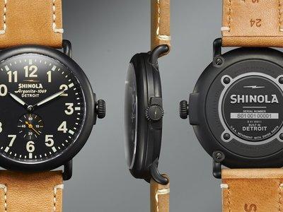 Reloj Runwell Shinola 47 mm, vuelve el esplendor de Detroit
