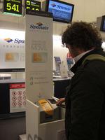 Análisis del sistema de check-in por móvil de Spanair