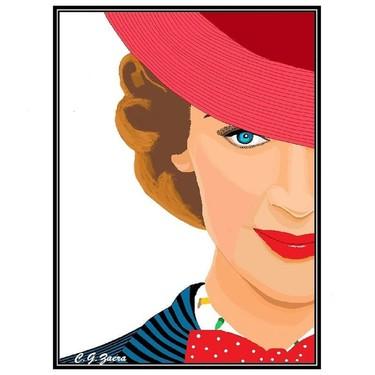 Una influencer de 88 años elegida por Disney para hacer una versión paint del cartel de Mary Poppins (que se estrena hoy)