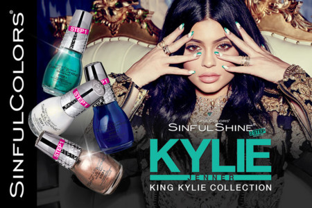 Kylie Jenner Sinful Colors Nail Polish W724