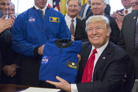 Space Force Trump