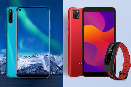 Honor 9C y Honor 9S: dos nuevos móviles económicos, uno con pantalla perforada y otro con Helio P22