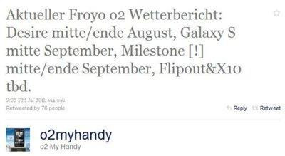 Motorola Milestone tiene Froyo más cerca, ¿con algunas carencias?
