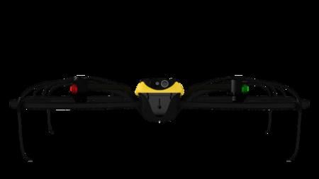 eXom es un drone a prueba de torpes: casi imposible de estrellar