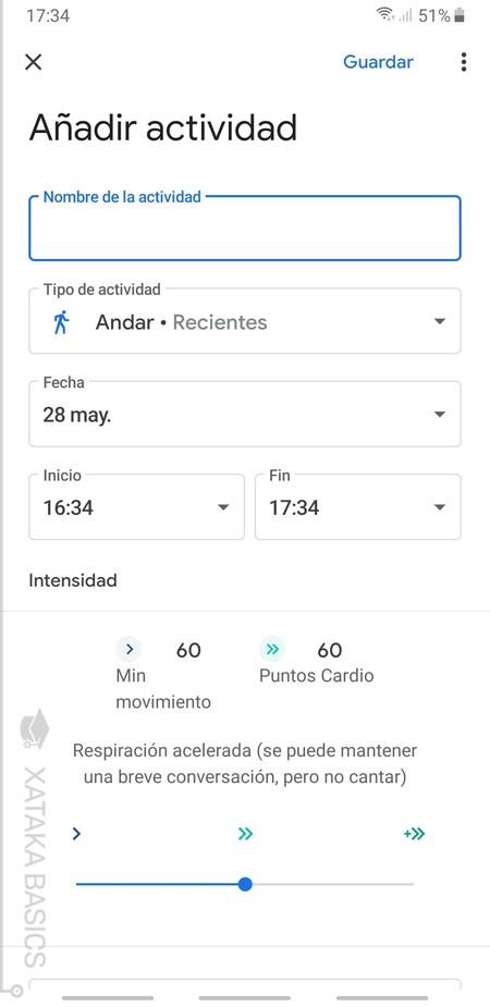 Anadir Actividad