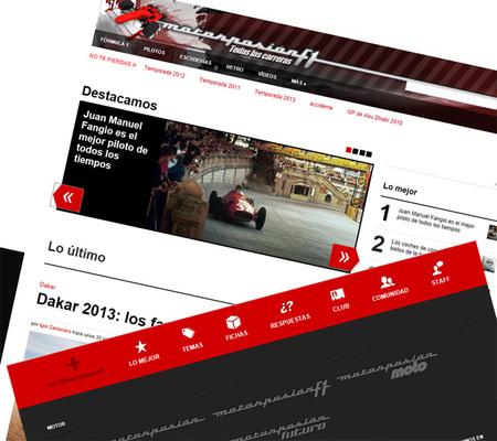 Estrenamos nuevo diseño en Motorpasión F1