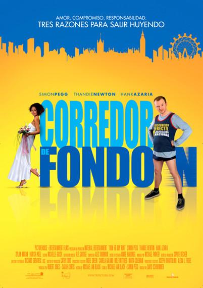 'Corredor de fondo', póster y trailer