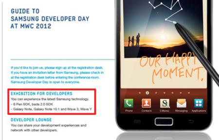 ¿Un Samsung Galaxy Note con 10.1 pulgadas?