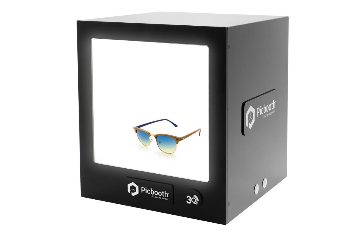 """Picbooth 30, una lightbox para fotografía de producto con el sello """"Made in Spain"""""""