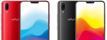 Vivo X21: el último 'clon' del iPhone X también tiene lector de huellas bajo la pantalla