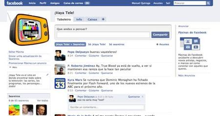 ¡Vaya Tele! ahora también en Facebook