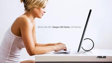 Asus Designo MS, monitores que te sorprenderán