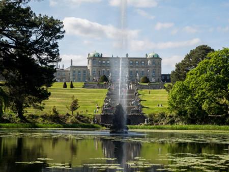 Powerscourt, donde contemplar uno de los jardines más bellos del mundo y la cascada más alta de Irlanda