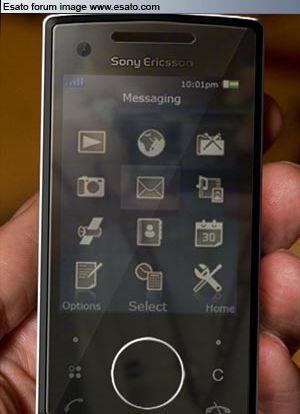 Sony Ericsson P5, imágenes casi reales