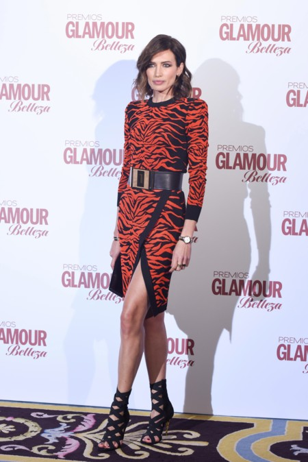 Premios Glamour Belleza 2016 Nieves Alvarez Hanneli Mustaparta 2