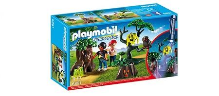 Set hiperbarato y original de Playmobil: Summer fun caminata nocturna por 7,28 euros en Amazon