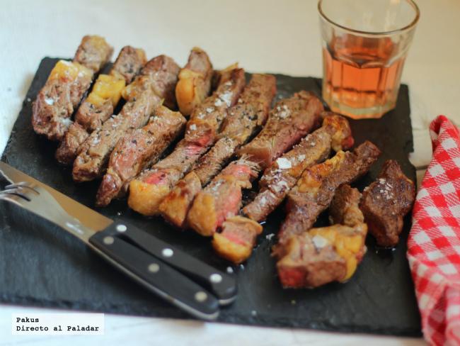 carne asada a la piedra