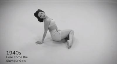 100 años de fitness femenino en 100 segundos