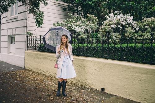 Los looks para días de lluvia con los que querrás salir a la calle, correr y saltar en los charcos