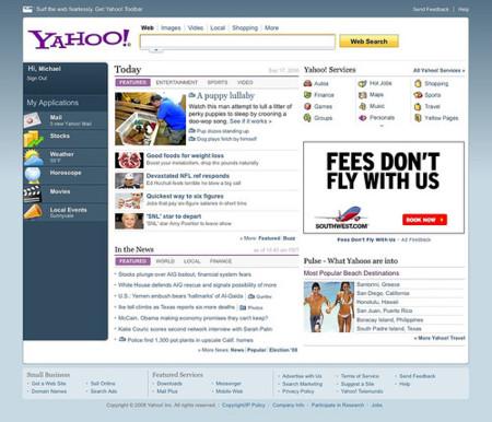 Yahoo renueva su página principal y amplía sus funcionalidades de búsqueda