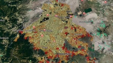 La pobreza en México vista con Google Earth: así se ven los niveles socioeconómicos desde un enfoque geoespacial