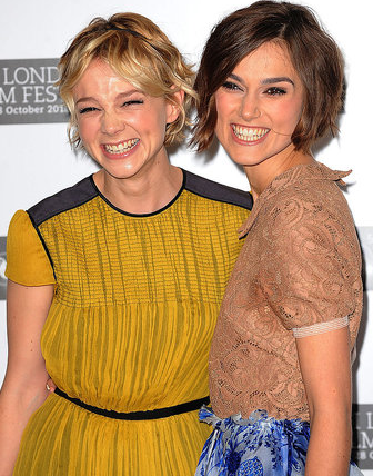 Los últimos looks de Carey Mulligan y Keira Knightley en el London Film Festival