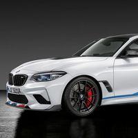 El BMW M2 Competition puede ser mucho más bestia gracias a todos estos componentes M Performance