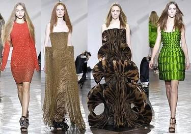 Giles en la Semana de la Moda de Londres Otoño/Invierno 2007/08