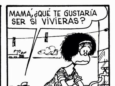 Recordando a Quino: las mejores viñetas de Mafalda acerca de la niñez y la maternidad