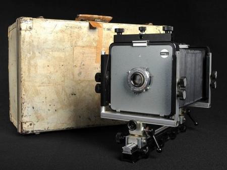 El próximo 9 de julio se subastará una de las cámaras originales de Ansel Adams