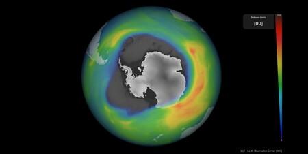 Agujero Ozono 2020