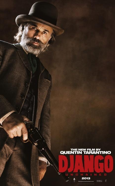 'Django desencadenado', los carteles